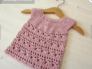 top de crochet niña