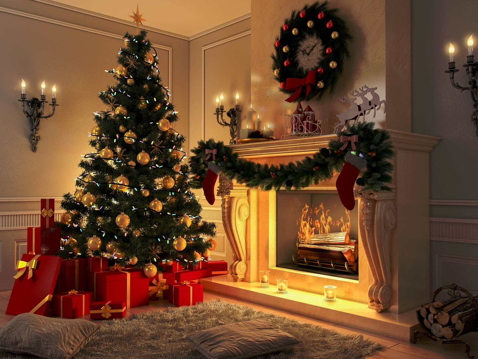 christmas items needed for decorating your home - Decorating Your House For Christmas
