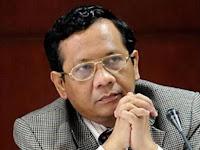 Terkait Kasus Ahok, Mahfud MD Menolak Jadi Saksi Ahli Gugat Presiden Jokowi di PTUN