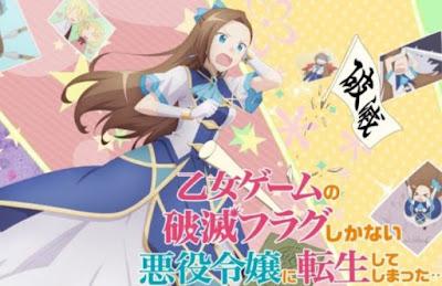 Otome Game No Hametsu Flag Shika Nai Akuyaku Reijou Ni Tensei Shiteshimatta Todos os Episódios Online