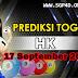 Prediksi Togel HK 17 September 2021