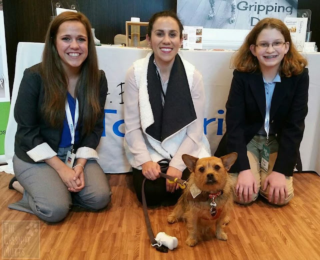 Jada with Dr. Buzby and her team