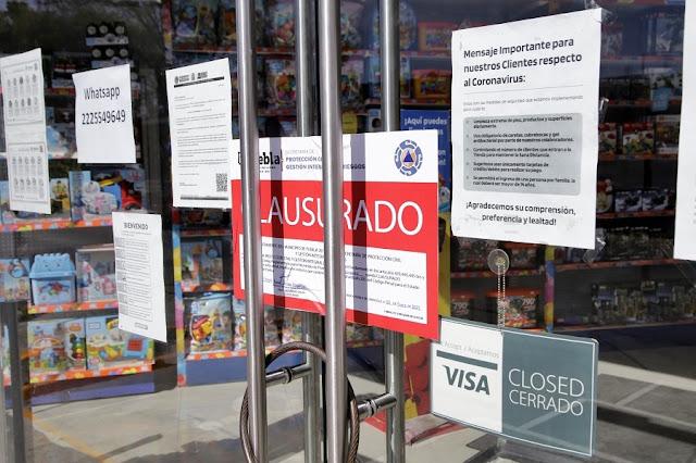 Claudia Rivera sigue afectando al comercio establecido, ahora a jugueterías