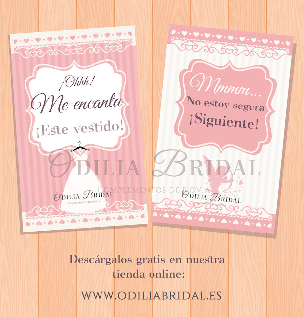 Imágenes descargables para novia Odilia Bridal