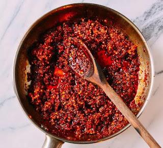 sốt ớt chua cay