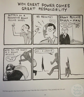 Step Aside, Pops: A Hark! A Vagrant Collection by Kate Beaton spiderman panel