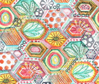 Textile available from Spoonflower