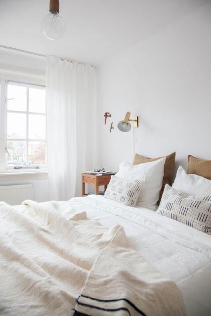 desain kamar tidur nyaman skandinavia