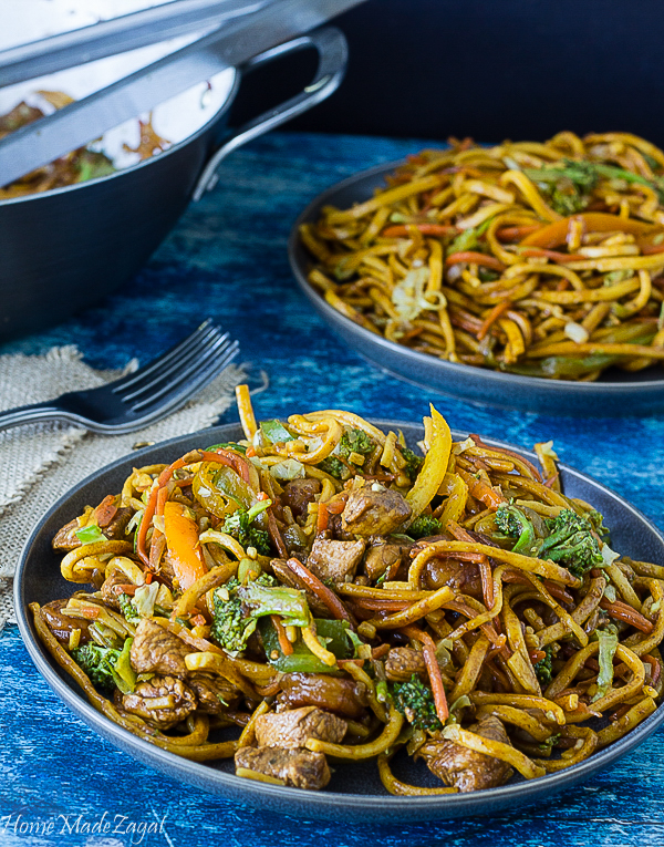 Chicken and shrimp chow mein guyanese style home made zagat recipe to make chow mein with chicken and shrimp forumfinder Image collections