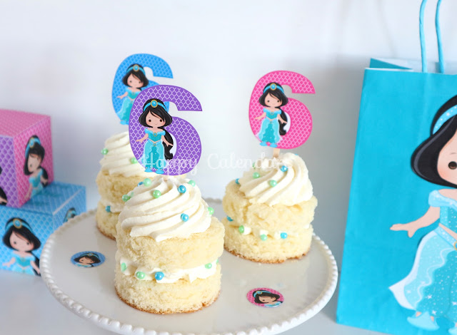 Centerpieces printables jasmine, princess jasmine printables, princess jasmine party