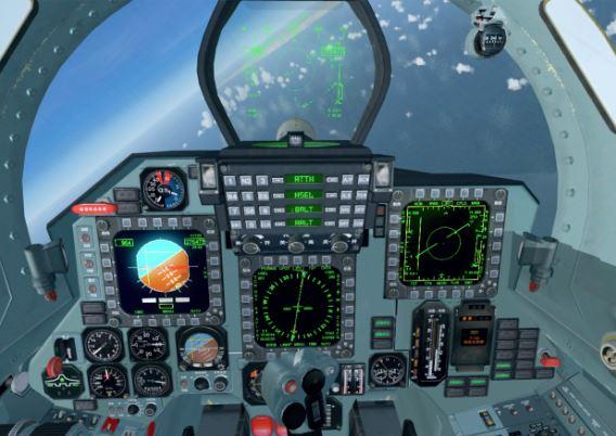 Shenyang J-11 cockpit