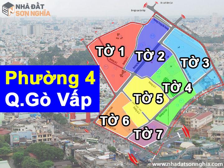 Thông tin quy hoạch bản đồ phường 4 quận Gò Vấp