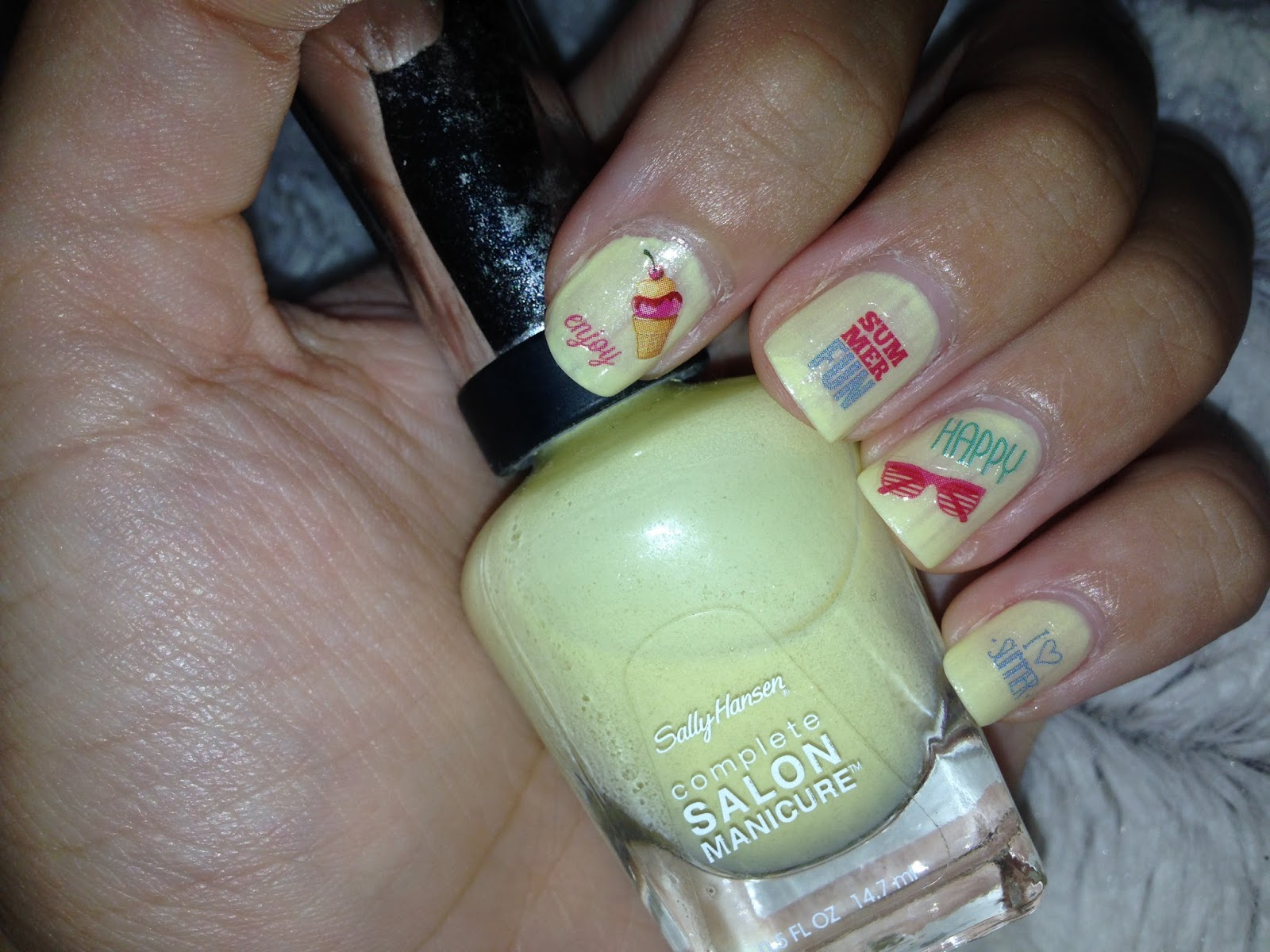 FairyAna: Essence I Scream For Ice Cream! nail stickers