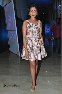 Actress Madhu Shalini Stills in Floral Short Dress at RGV Shiva to Vangaveeti Event  0216.JPG