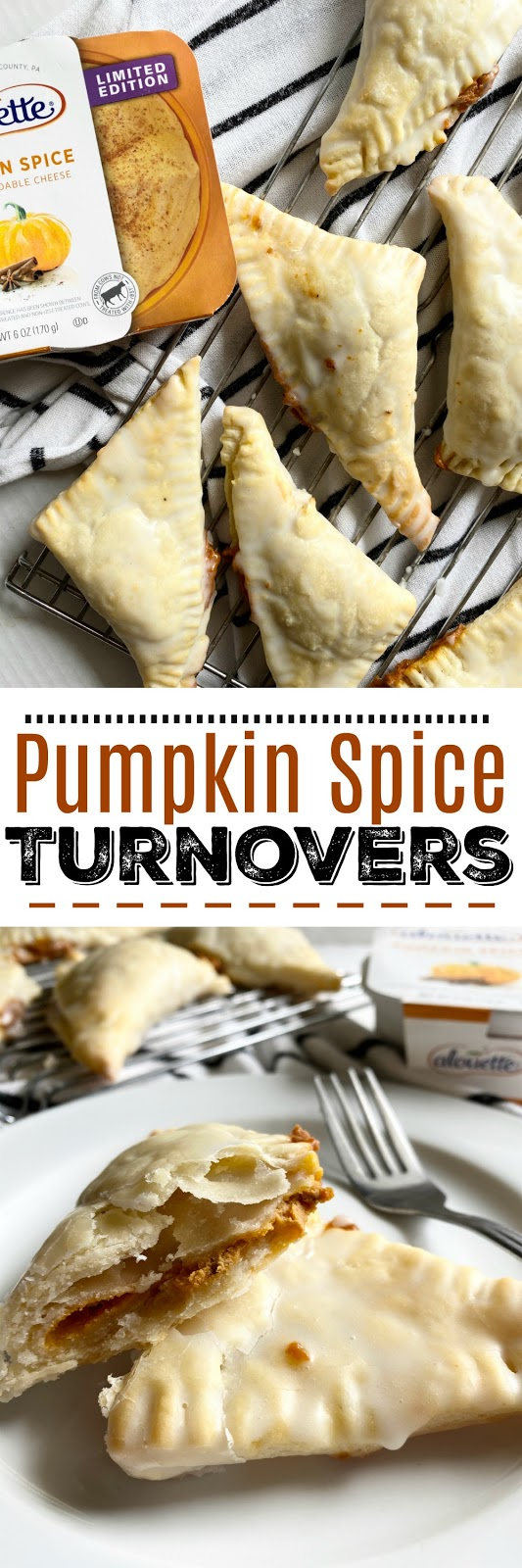 pumpkin spice turnovers #pumpkinspice #alouette #turnovers