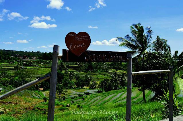 Tanda Jatiluwih Rice Terrace Bali