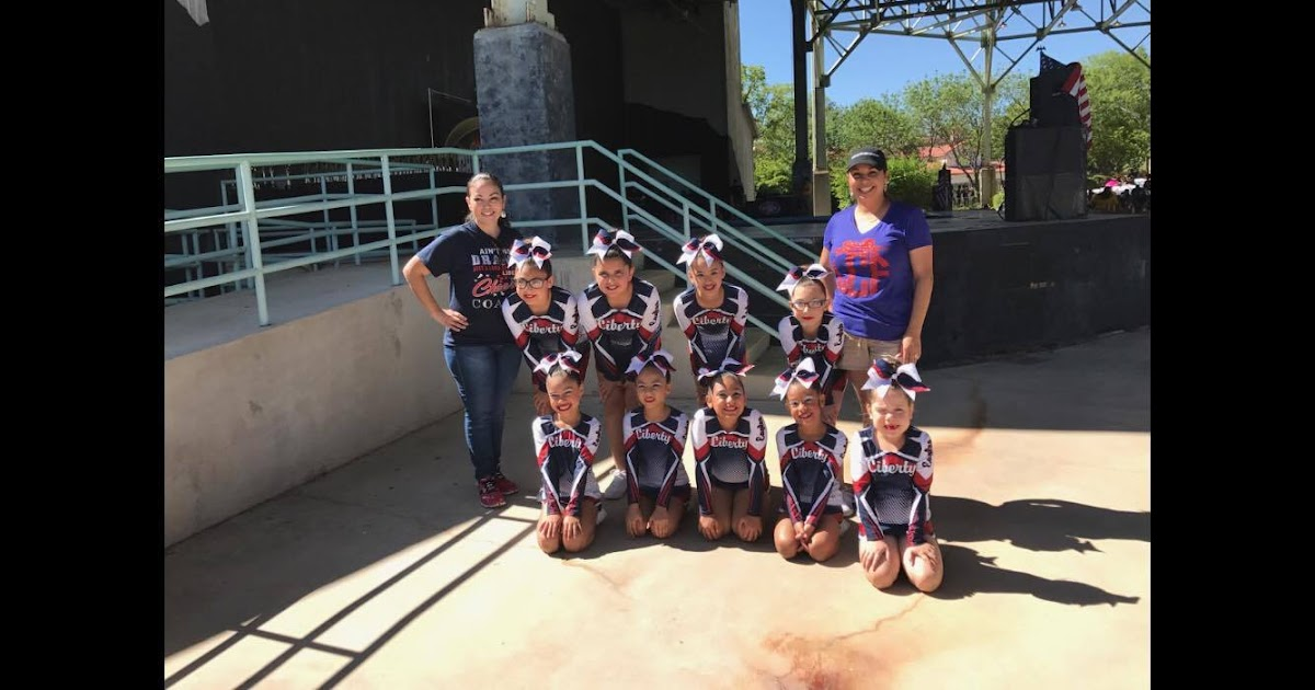 Eagle Pass Isd Ivision Liberty Cheer Competes And