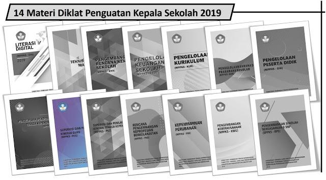 14 Materi Diklat Penguatan Kepala Sekolah 2019