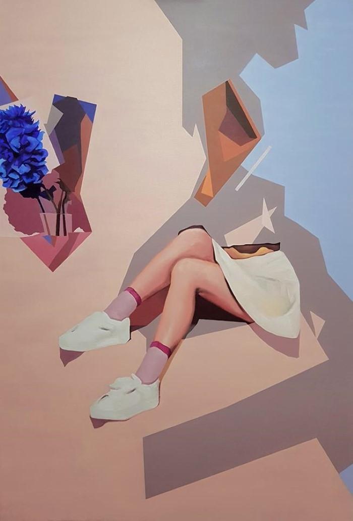 Румынский художник. Radu Rodideal