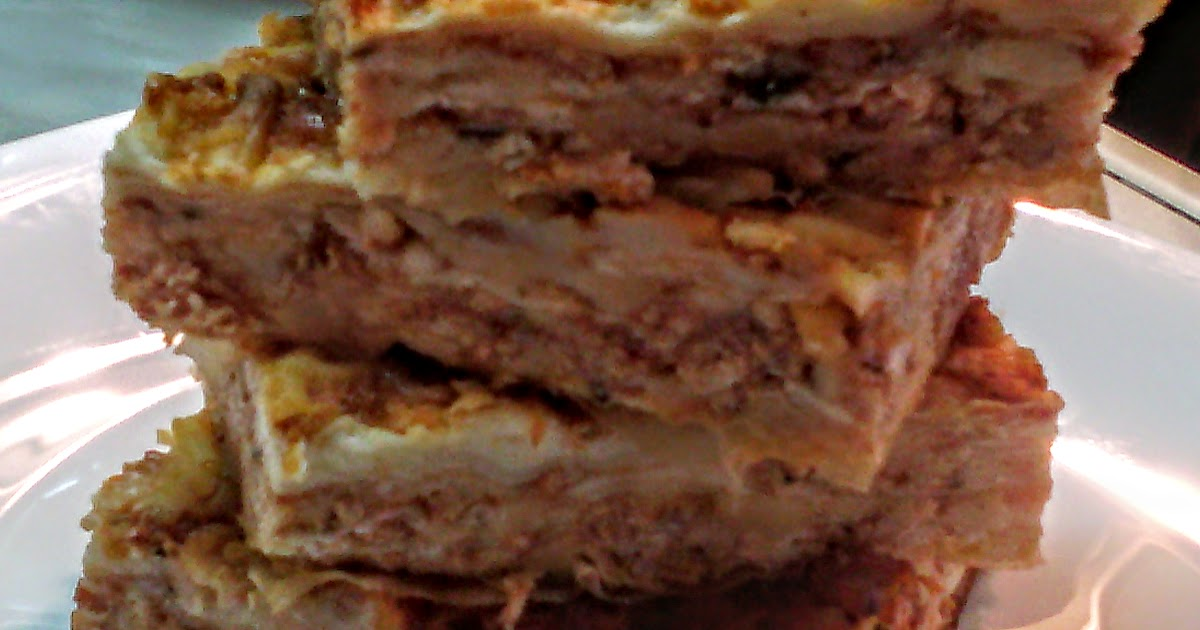 U kuvanju masta pravi svasta: LASAGNE CON CARNE & LAZANJE SA MESOM
