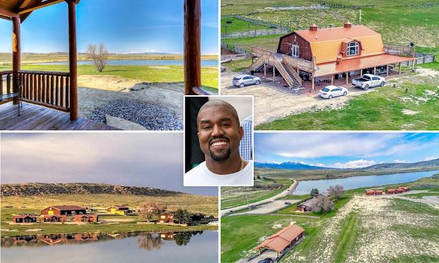 Вижте новото ранчо на Кание Уест за 14 милиона долара (ВИДЕО)