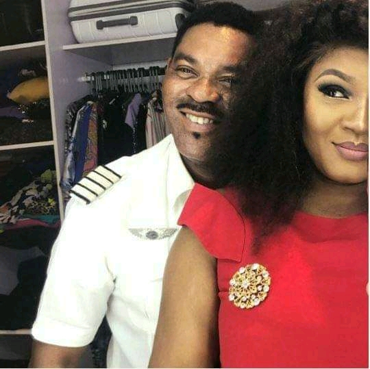 Fake Love! Omotola Explodes As Hubby Pushes Her Away  From The Bed for Sneezing