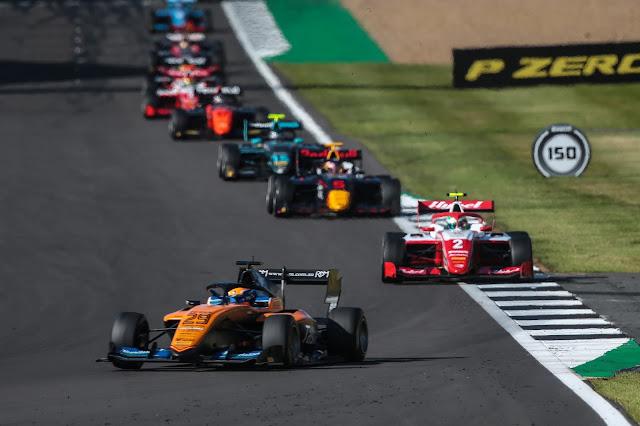 Silverstone (ENG) JUL 30 – AUG 2 2020 – British Grand Prix at Silverstone circuit. Alex Peroni #29 Campos Racing © 2020 Diederik van der Laan / Dutch Photo Agency