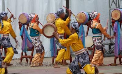 Tari Bedug Warnane Khas Banten