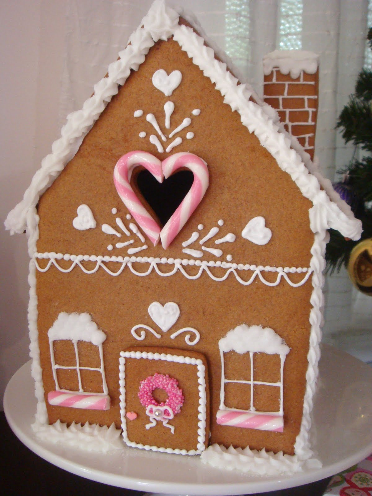 Butter Hearts Sugar Gingerbread House Part One Making