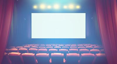 映画館のスクリーン