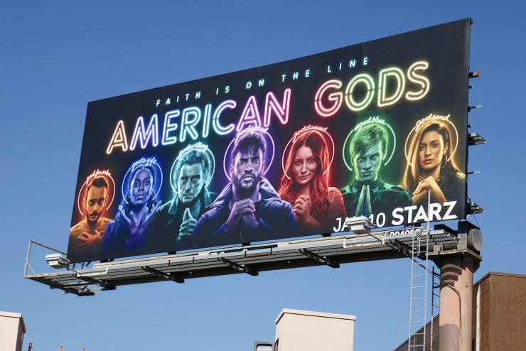 American Gods season 3 billboard