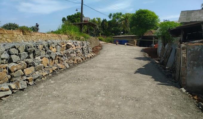 Jalan Longsor di Desa Tanjung Burung Sudah di Bangun Jalan Alternatif oleh Dinas Bina Marga dan SDA Kabupaten Tangerang