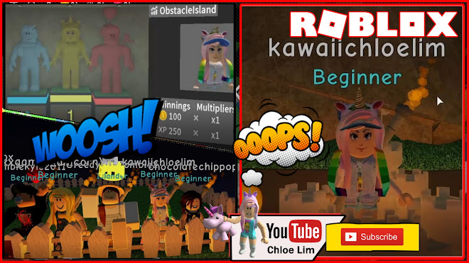 Roblox Obstacle Island Gameplay! New Release Game! Fun Obby Competition Game!