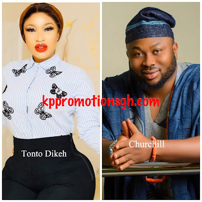 Ex-Husband Of Tonto Dikeh, Churchill Allegedly Sues Tonto Dikeh For Character Defamation And Demands N500m In Damages (See Photos)