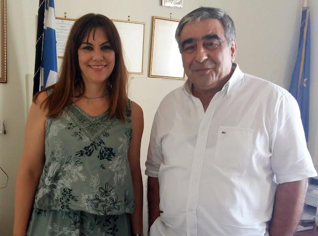 Συνάντηση με τους Διευθυντές Πρωτοβάθμιας και Δευτεροβάθμιας Εκπαίδευσης Αργολίδας είχε η Ε. Παναγιωτοπούλου