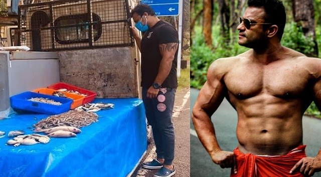 Inspiration: Mr Kerala Awad winning Bodybuilder Sells Fish on the Streets; Coronavirus Effect