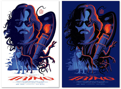 John Carpenter's The Thing Screen Print by Tom Whalen x Vice Press