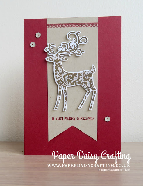 Dashing Deer Christmas Card by Stampin' Up!