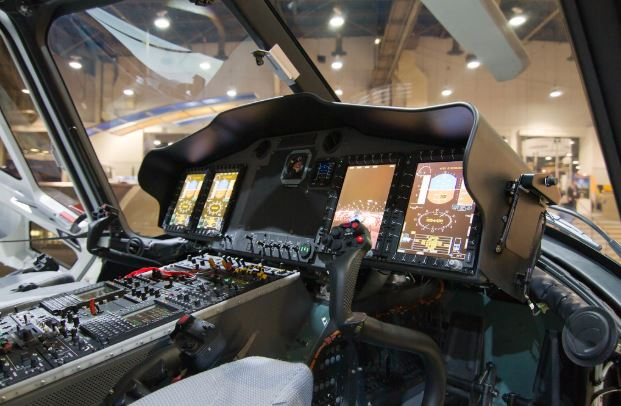 Eurocopter EC175 cockpit