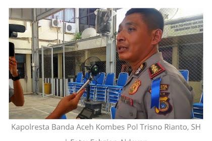 Kapolresta Banda Aceh Geubantah Na Peulisi Nyang Poh Azhari Cage