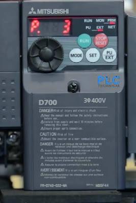 parameter P3 Mitsubishi D700