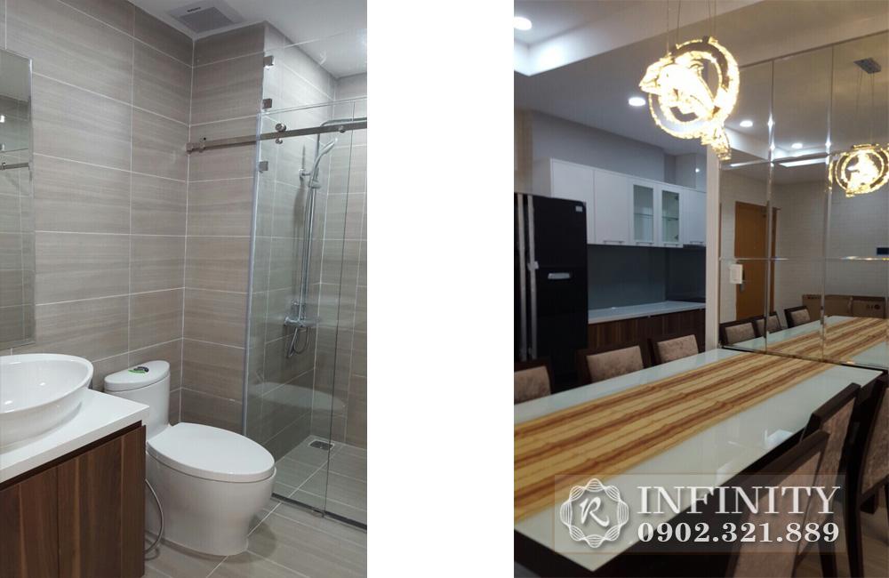 Căn hộ cho thuê Q5 Everrich Infinity - phòng tắm