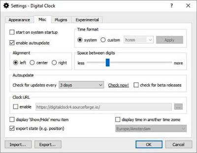 إضافة الساعة الرقمية الى شاشة الكمبيوتر