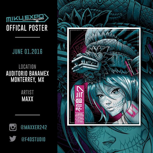 Poster-Miku-Expo-Mexico-Monterrey