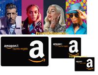 R101 Music Test : per ogni questionario compilato avrai in regalo 1 buono Amazon ( premio certo)