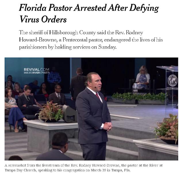 https://www.nytimes.com/2020/03/30/us/coronavirus-pastor-arrested-tampa-florida.html?campaign_id=2&emc=edit_th_200331&instance_id=17201&nl=todaysheadlines&regi_id=26310442&segment_id=23366&user_id=c2277926026d2a43e117008d9c6e5b6f