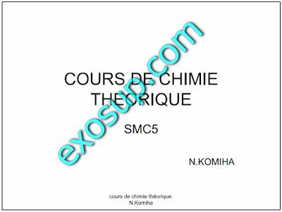 cours de chimie théorique smc s5 FSR