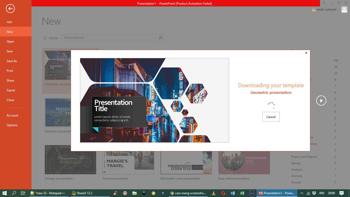 2 Cara Free Download Template Powerpoint Terbaik Yang Sudah Jadi Tapi Gratis Mediailmu22