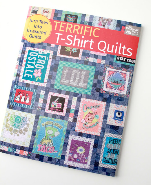 Terrific T-shirt Quilts book - great ideas for using favorite T-shirts to make a quilt