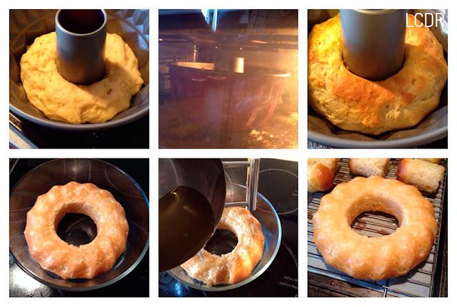 Receta de torta de babás napolitanos al ron 07